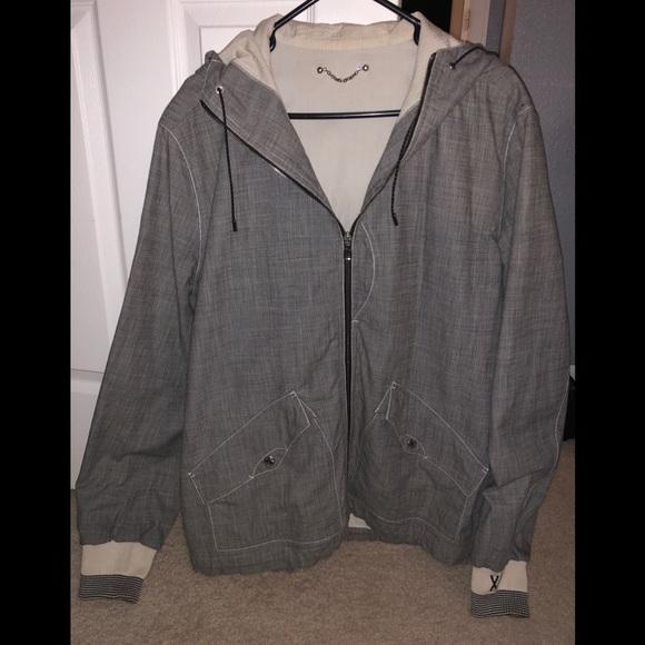 1c09eb59847 Authentic Men's Louis Vuitton Jacket with hood